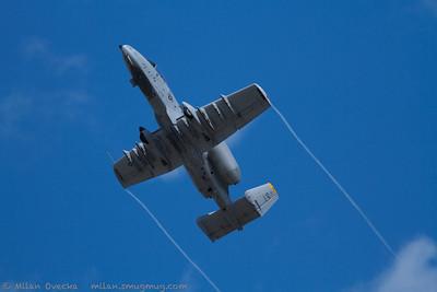 Fairchild Republic A10C Thunderbolt II, A-10 West Demo Team, US Air Force, Spangdahlem AB, Germany
